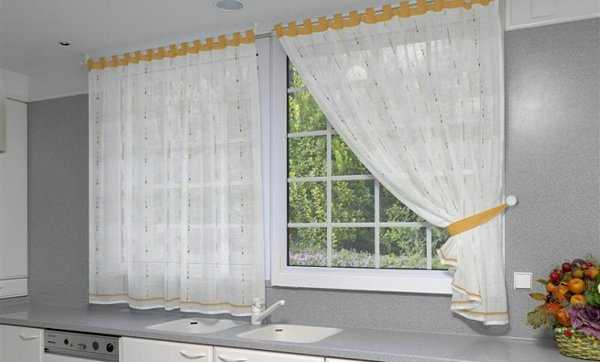 Curtains for cooking class and style!