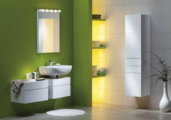 Baldosas Baño Pequeno:Green Bathroom