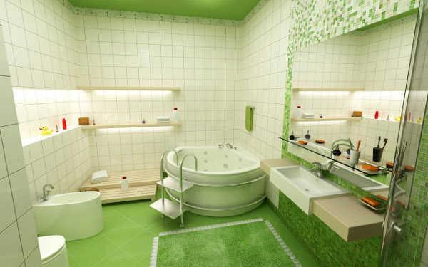 decoracion-bano-pequeno-verde-2