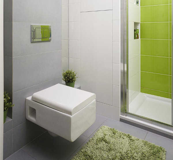Decoracion De Baño Color Verde:Como Decorar Un Bano
