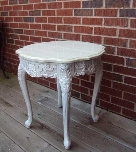 Te ense amos a pintar y restaurar los muebles de tu sala - Muebles restaurados vintage ...