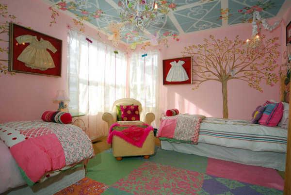 Decoraci n de cuarto para gemelos los mejores consejos for Decoracion de cuartos para ninas grandes