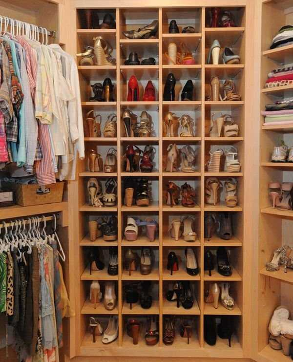 We love having well organized shoes!