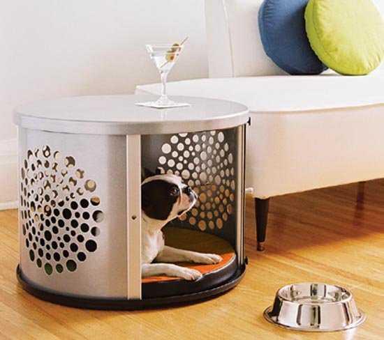 Utiliza otro tipo de materiales para la casa de tu perro
