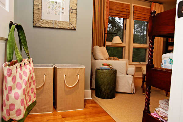 Puedes utilizar uno de estos cestos para ti y otra para tu esposo