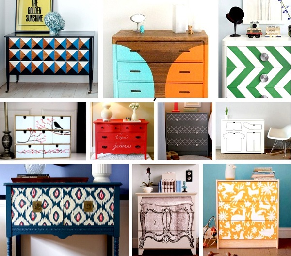 7 ideas creativas para reciclar y decorar bricolaje - Restaurar decorar y pintar muebles ...