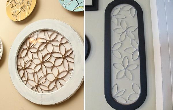7 ideas creativas para reciclar y decorar bricolaje for Adornos para murallas