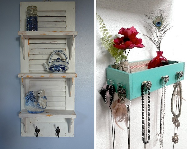 7 ideas creativas para reciclar y decorar bricolaje - Como reciclar muebles ...