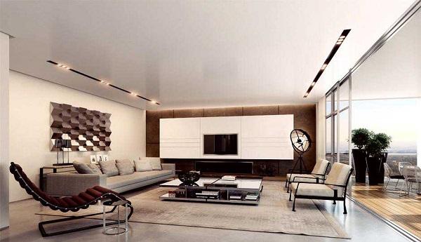 Busca muebles con diseños fuera de lo común, de tal manera que no necesites más elementos decorativos en tu espacio