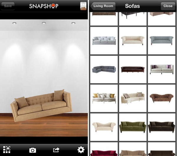 7 aplicaciones para decorar general decora ilumina App decoracion interiores