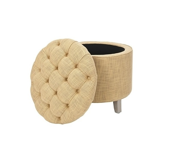 Los muebles otomanos son perfectos para añadir un toque