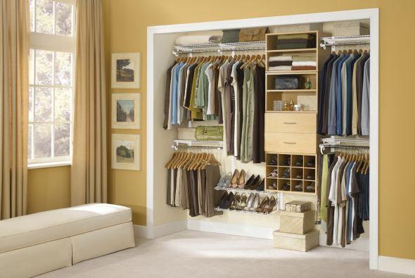Un closet ordenado te ahorra tiempo, dinero y espacio