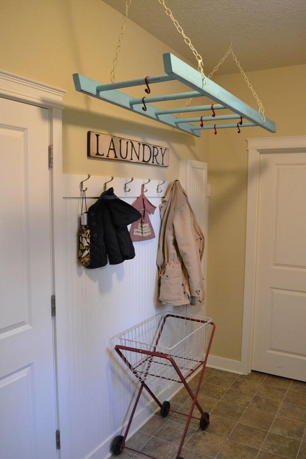 Una idea ingeniosa para darle un toque vintage a tu decoración