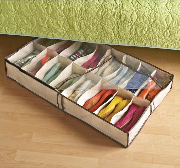 Aprovecha el espacio más pequeño para guardar objetos compactos