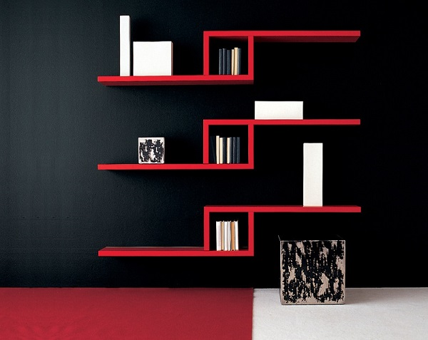 Unas lindas repisas son minimalistas e ideales para acomodar diversos libros y otros objetos