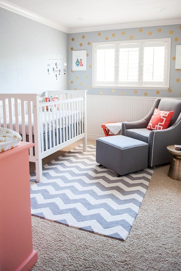10 ideas de decoraci n de cuarto para beb s dormitorio - Alfombra habitacion bebe ...