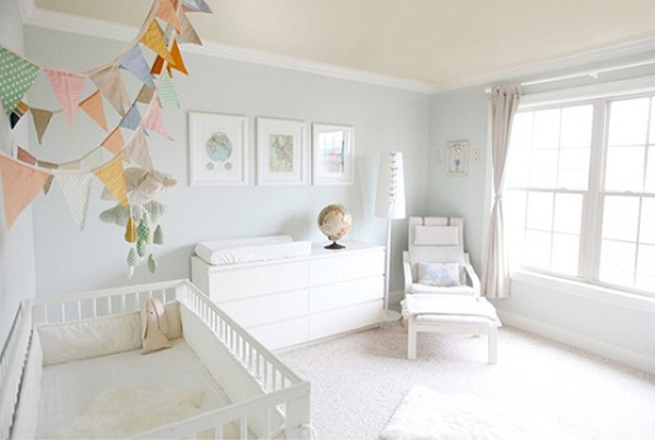 10 ideas de decoraci n de cuarto para beb s dormitorio - Ideas decoracion bebe ...