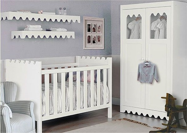 10 ideas de decoraci n de cuarto para beb s dormitorio for Muebles de habitacion en blanco