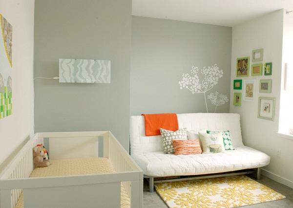 10 ideas de decoraci n de cuarto para beb s dormitorio - Sofa para cuarto ...