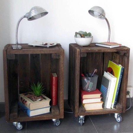 10 ideas para decorar con cajas de frutas diy diy for Mesa con cajas de fruta