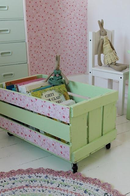 10 ideas para decorar con cajas de frutas diy diy - Decorar con cajas de frutas ...