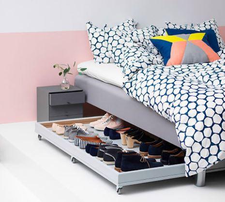6 maneras geniales de organizar zapatos dormitorio for Cuarto de zapatos