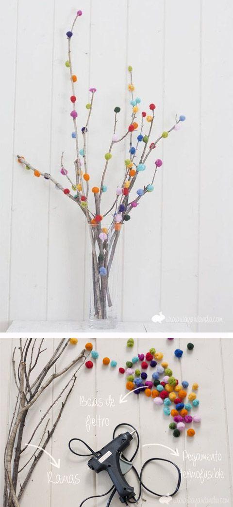 10 ideas para decorar tu casa con pompones diy decora for Paginas para decorar tu casa