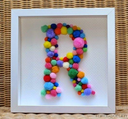 10 ideas para decorar tu casa con pompones diy decora - La casa de las manualidades ...